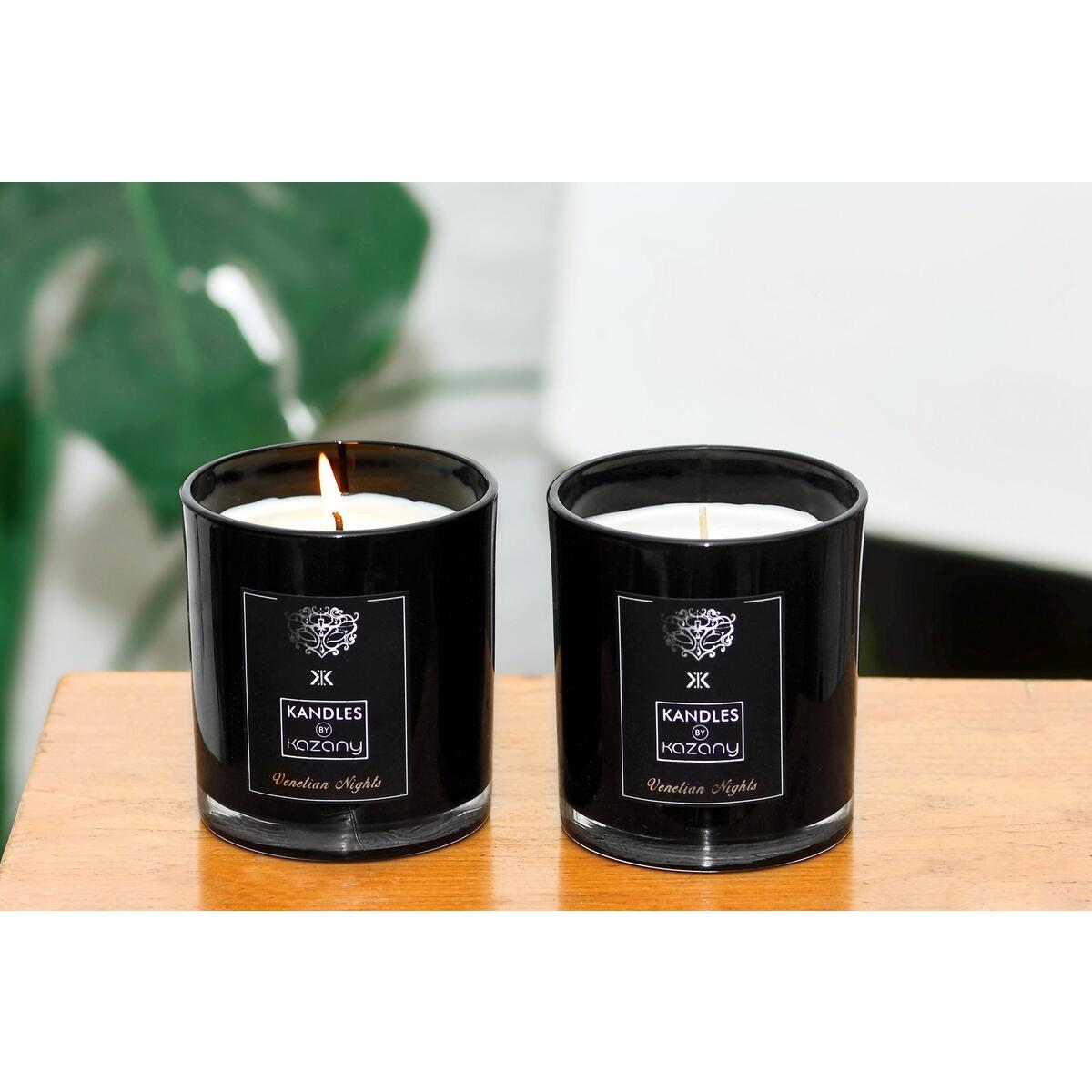 Venetian Nights | Luxury Scented Candle | Italy | Kandles By Kazany