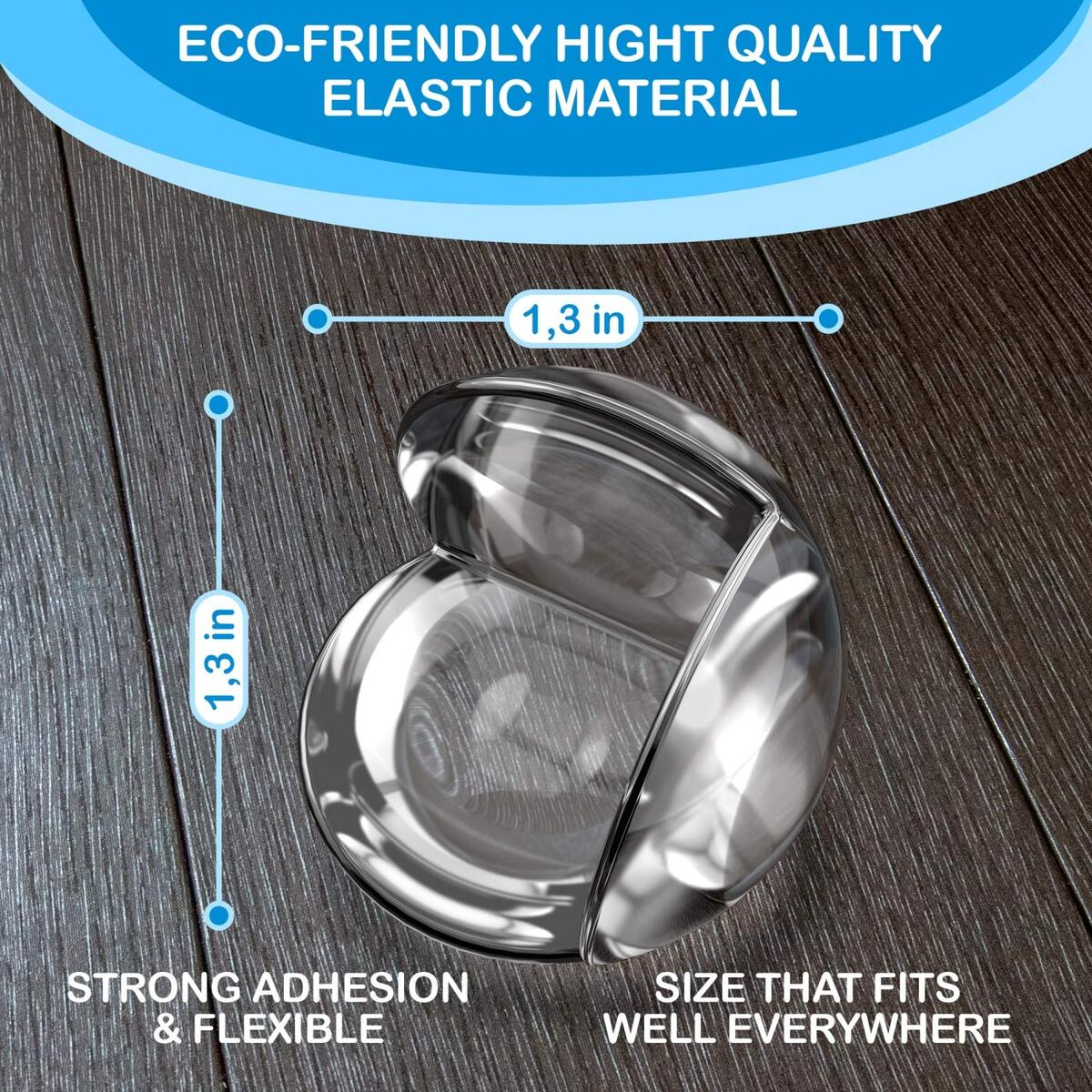 Corner Protector Baby (12 Pack +Gift) Baby Proof Corner Guards - Furniture Corner Protectors Child Safety - Sharp Edge Protector - Table Corner Protectors for Kids Proofing Coffee Table Bumpers Clear