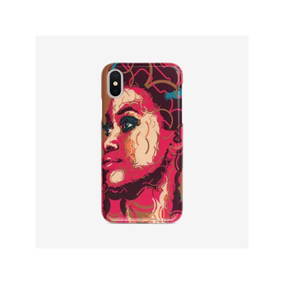 Black Queen iPhone case, iPhone SE