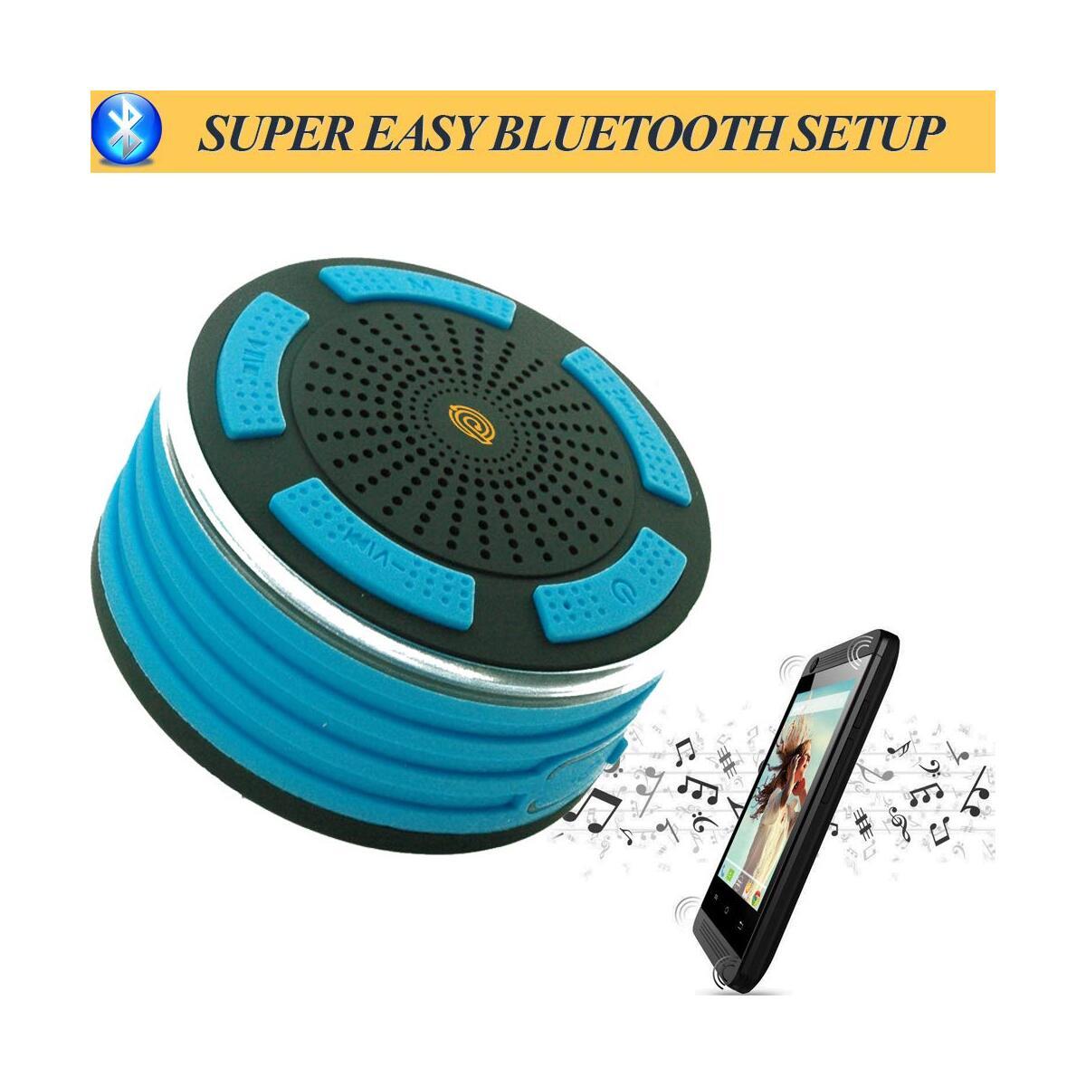 Primax IPX7 Wireless Waterproof Bluetooth Speaker