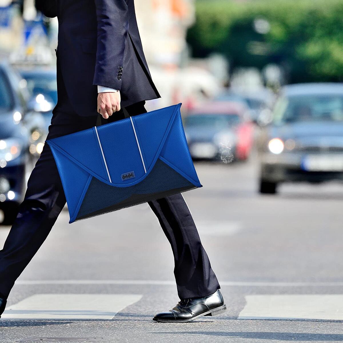 Dot&Dot 18 Inches Packing Folder Backpack Accessory to Avoid Wrinkled Clothing (Dark Blue)