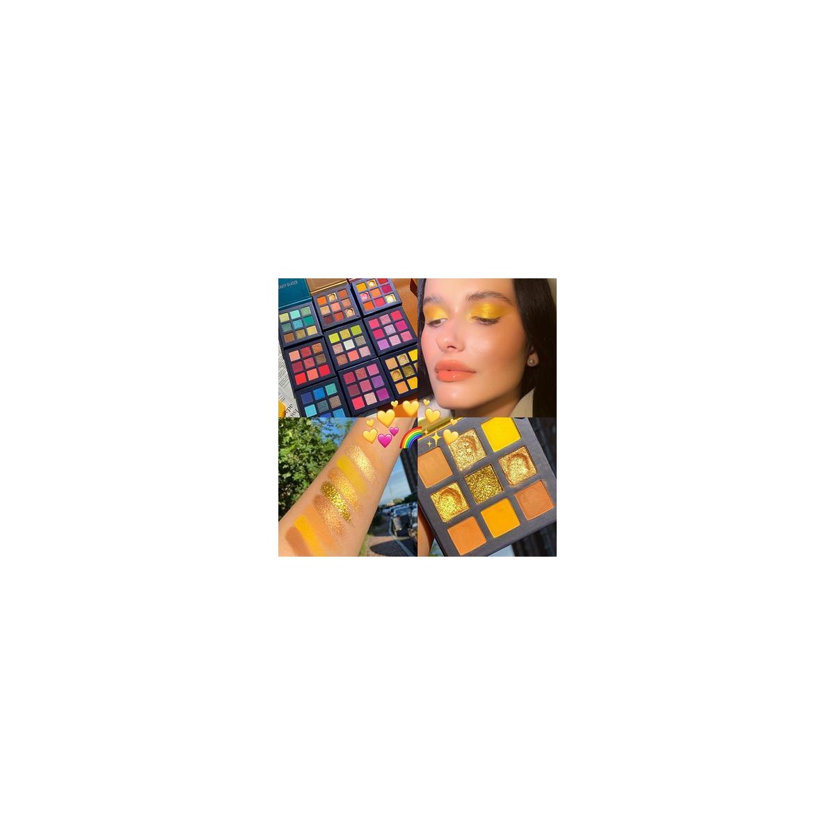 9 Color EyeShadow Palette, I