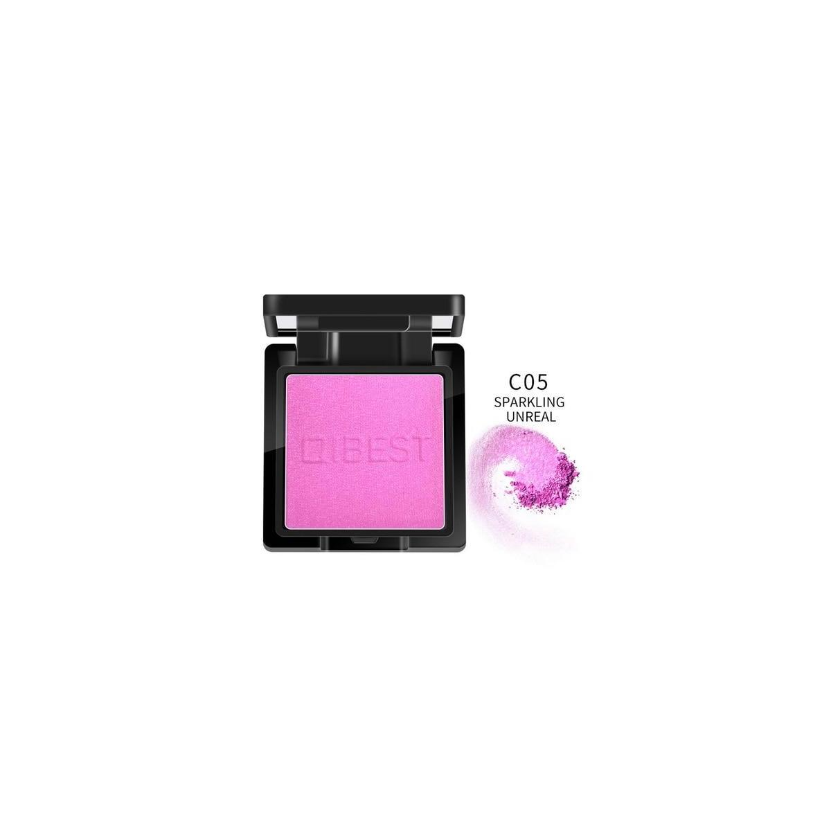 QIBEST Blush Peach Pallete, 5
