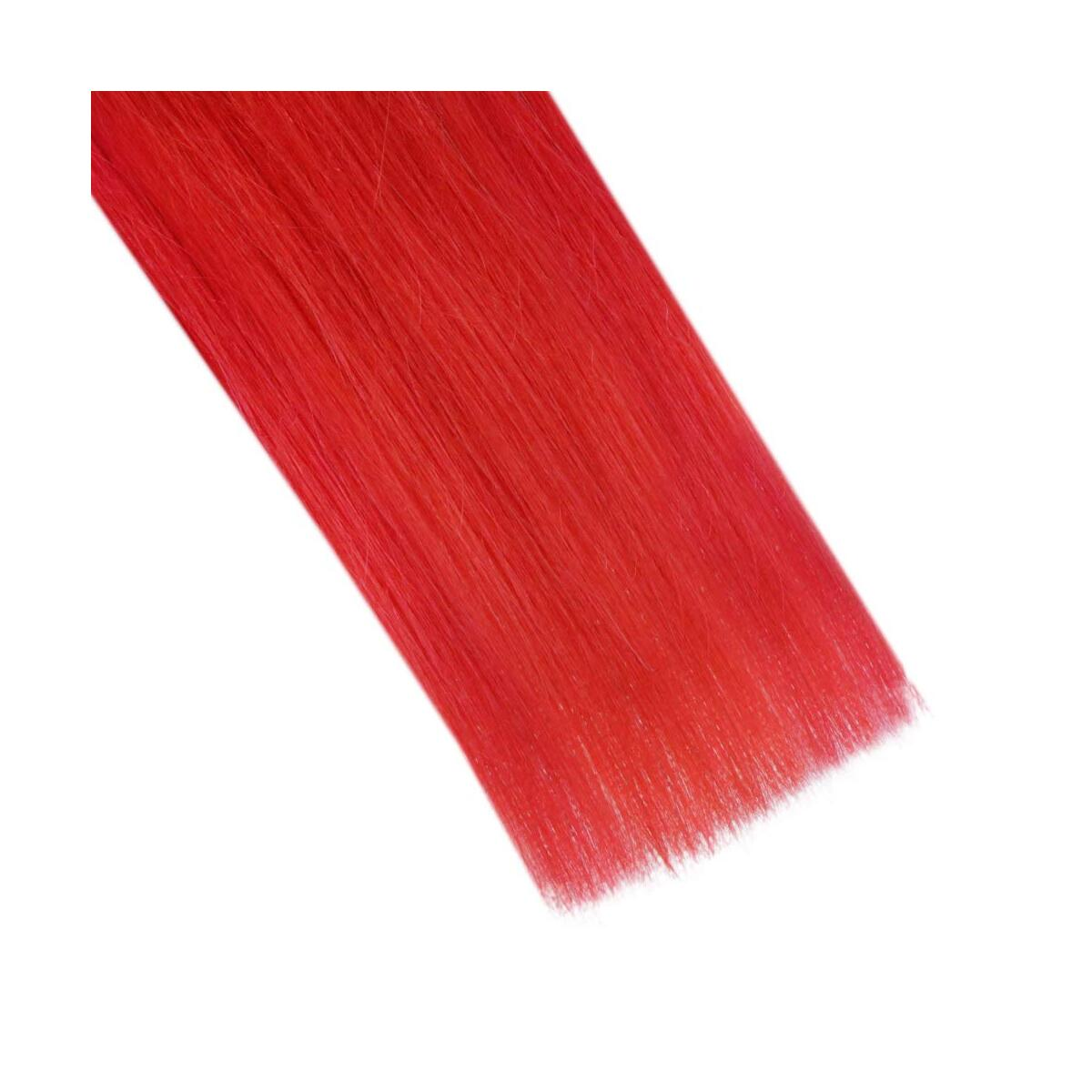 Single Sided Tape Hair Extensions Red Hair Extensions 22inch 25g Per Pack Invisible Hair Extensions Real Human Hair