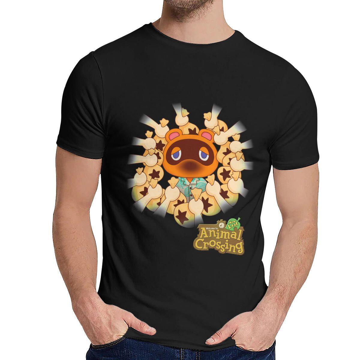Animal Crossing Tom Crook Money Bags Shirt, Gray / L