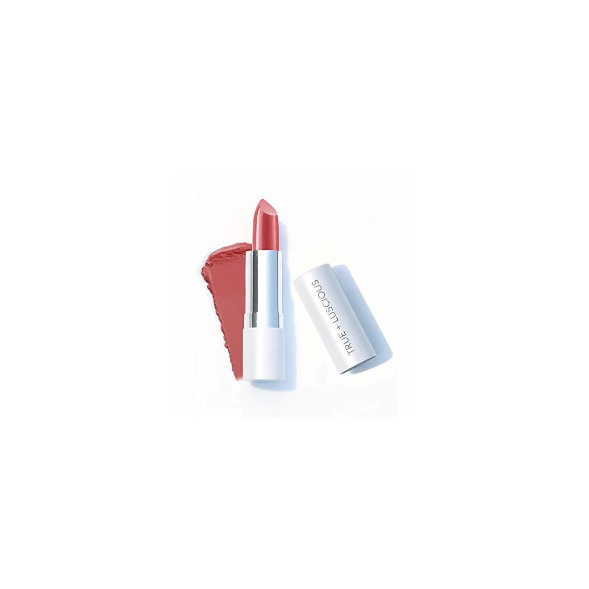 Super Moisture Lipstick by True + Luscious - Clean Formula, Smooth and Hydrating - Vegan and Cruelty Free Lipstick, Non Toxic and Lead Free Shade: Dreams - 0.12 oz