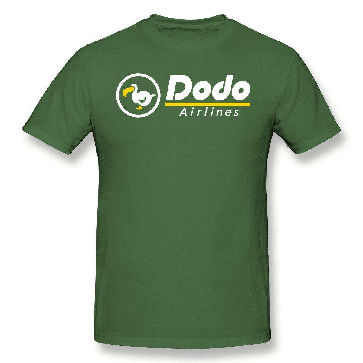 Dodo Airlines Shirt, Sky Blue / XL