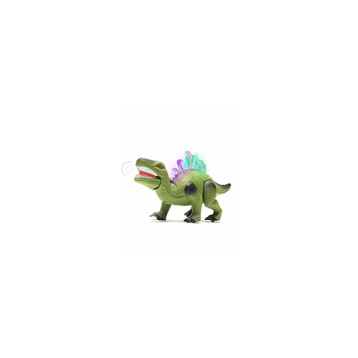 Walking Dinosaur ToyRobot Dinosaur Toy Walks Mouth Moves Roars and Lights