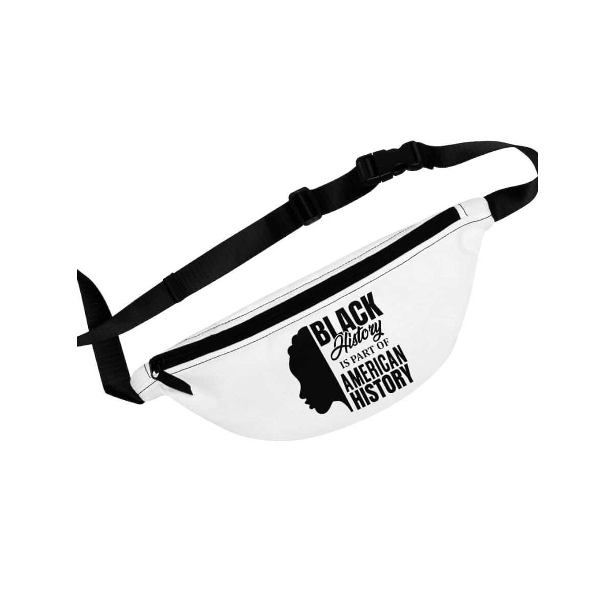 Afrocentric Black History Fanny Pack, One Size
