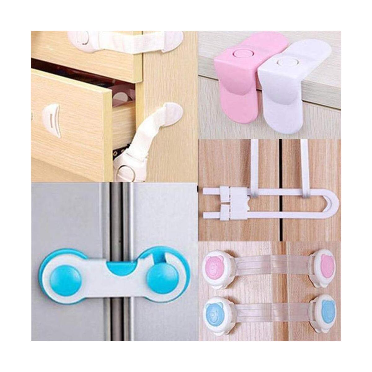 Child Safety Adjustable Strap Cabinet Lock