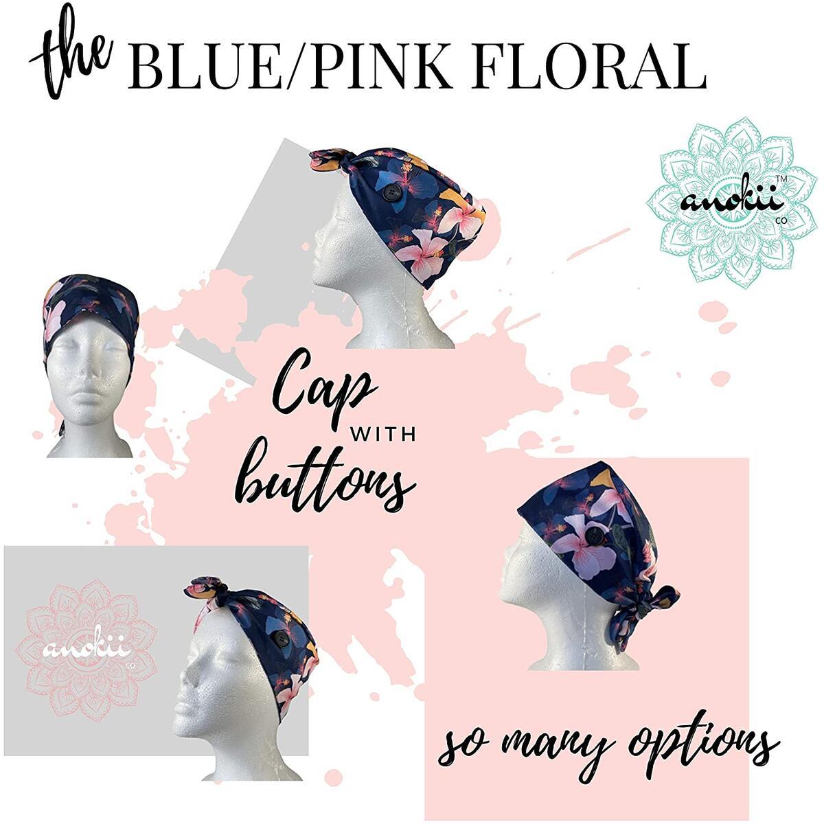 ANOKII CO Head Cover Cap- Premium Adjustable Hair Caps for Men Women w/Buttons