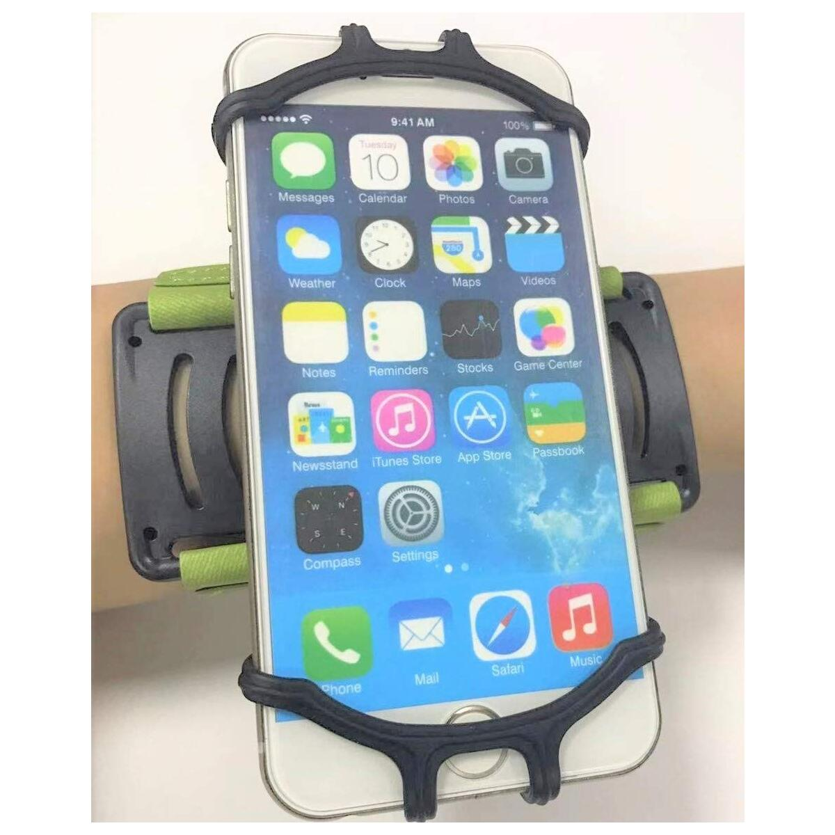 ACHORO 360 Degree Rotating Armband - Compatible with iPhone, Samsung - Premium Quality Smartphone Arm Holder (Green)