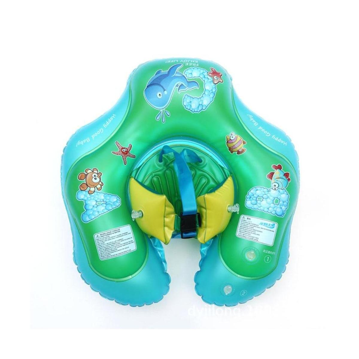 Baby Waist Inflatable Swimming Ring Swim Pool Float Toy Bath Pool Toy Trainer