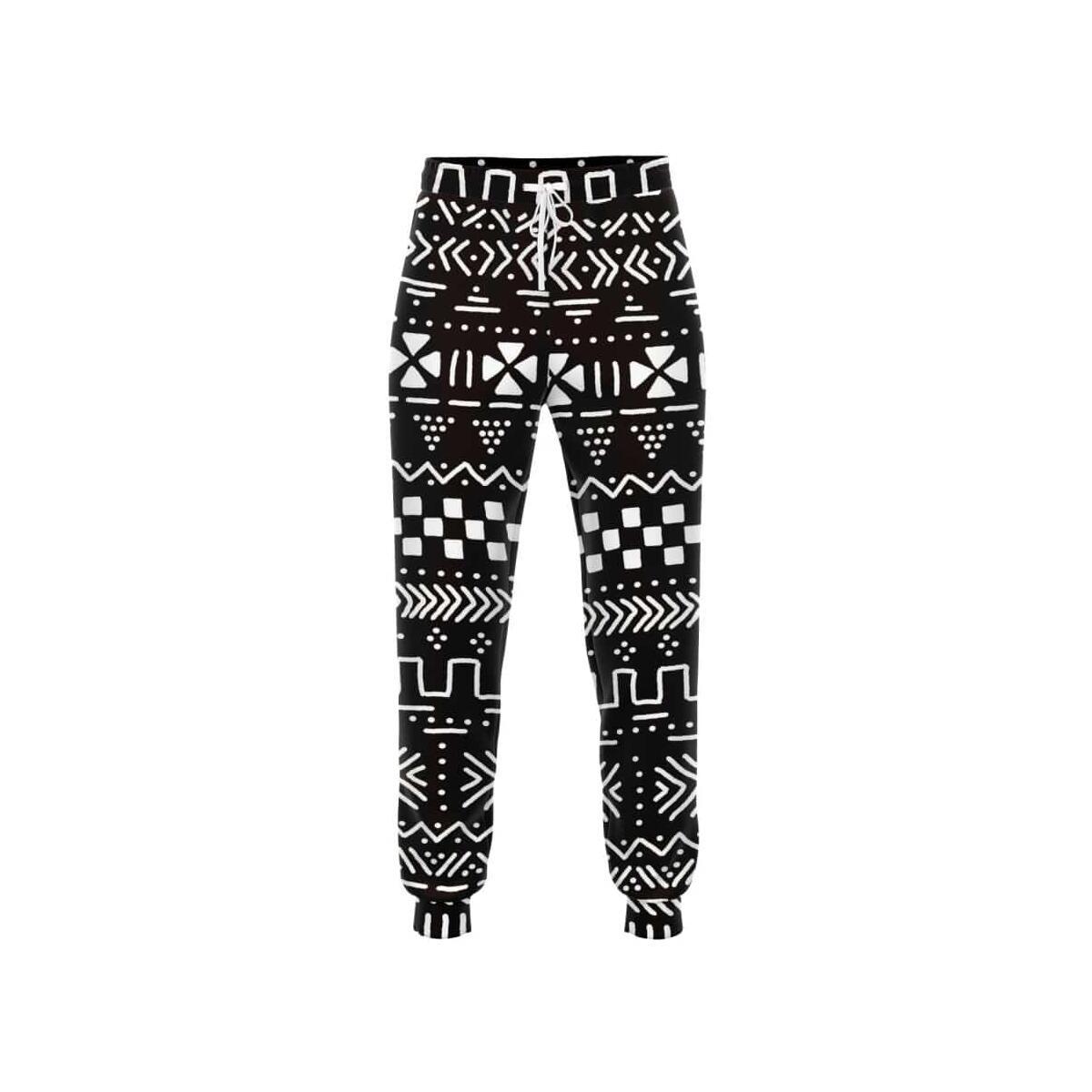 Brown Afrocentric Jogger Sweatpants