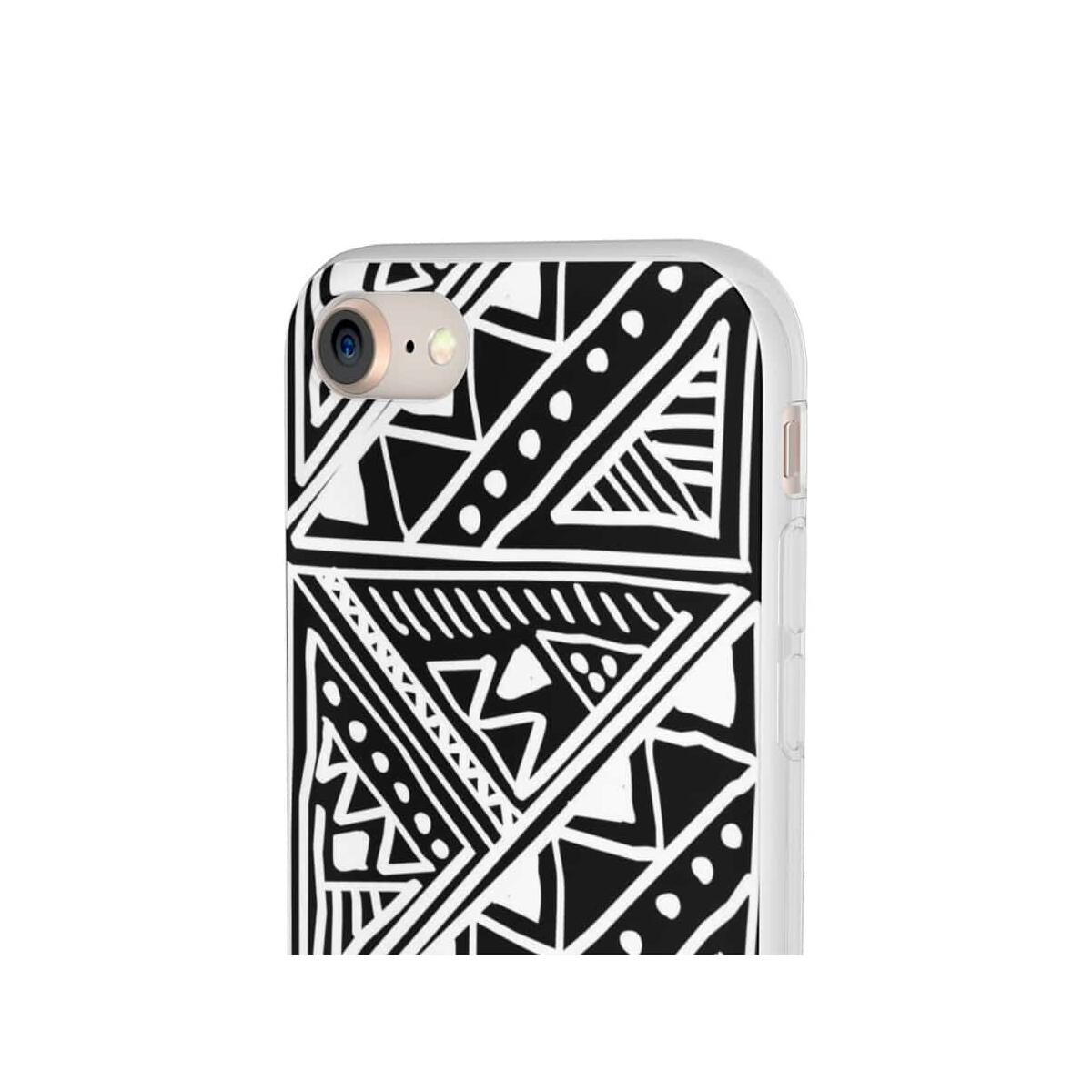 White African Tribal Mud-cloth Flexi Phone cases