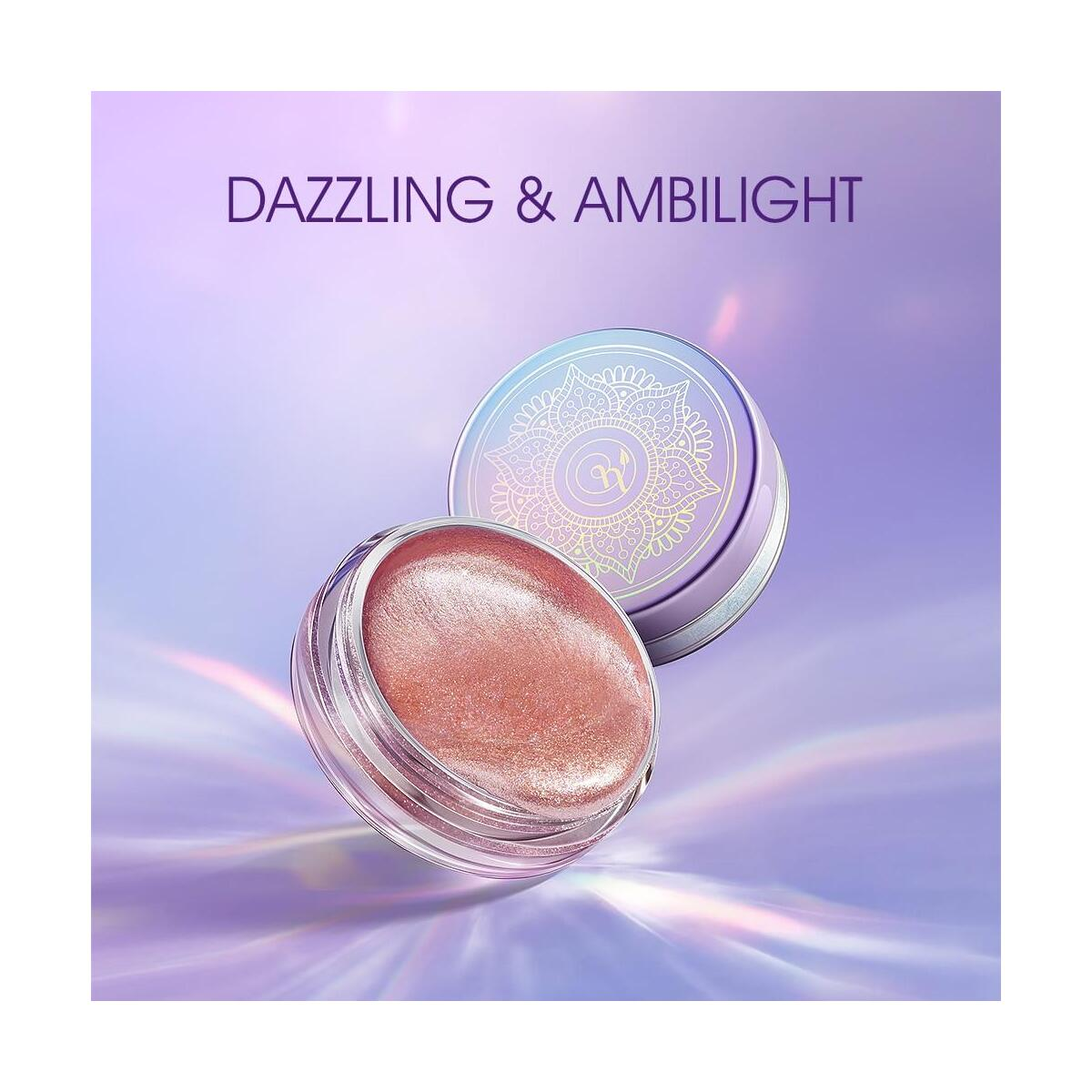 ZEEZEA New Honey & Beauty 4 Colors Pigmented Liquid Eyeshadow, 201