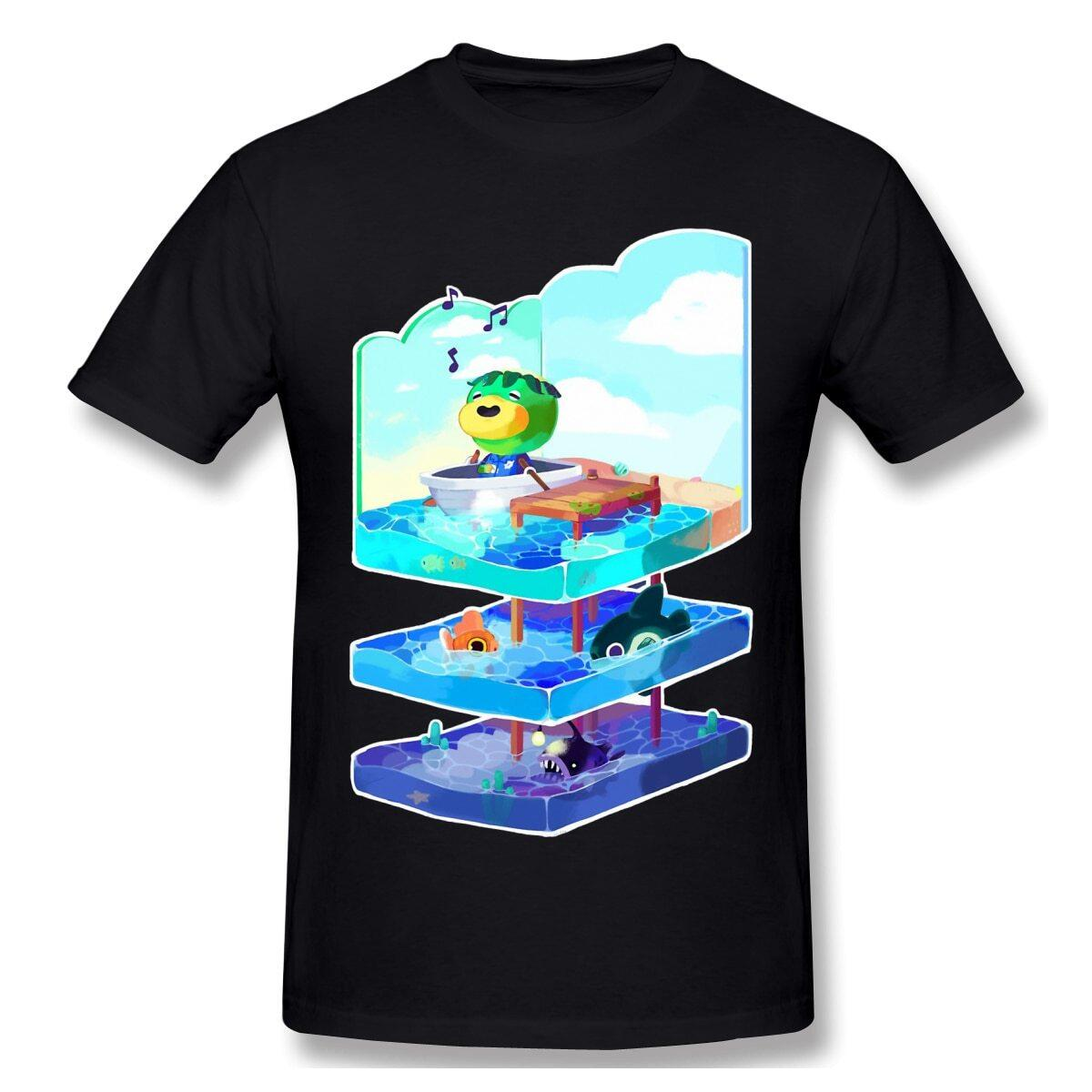 Animal Crossing Kappin' Adventure Layers Shirt, Black / XXXL