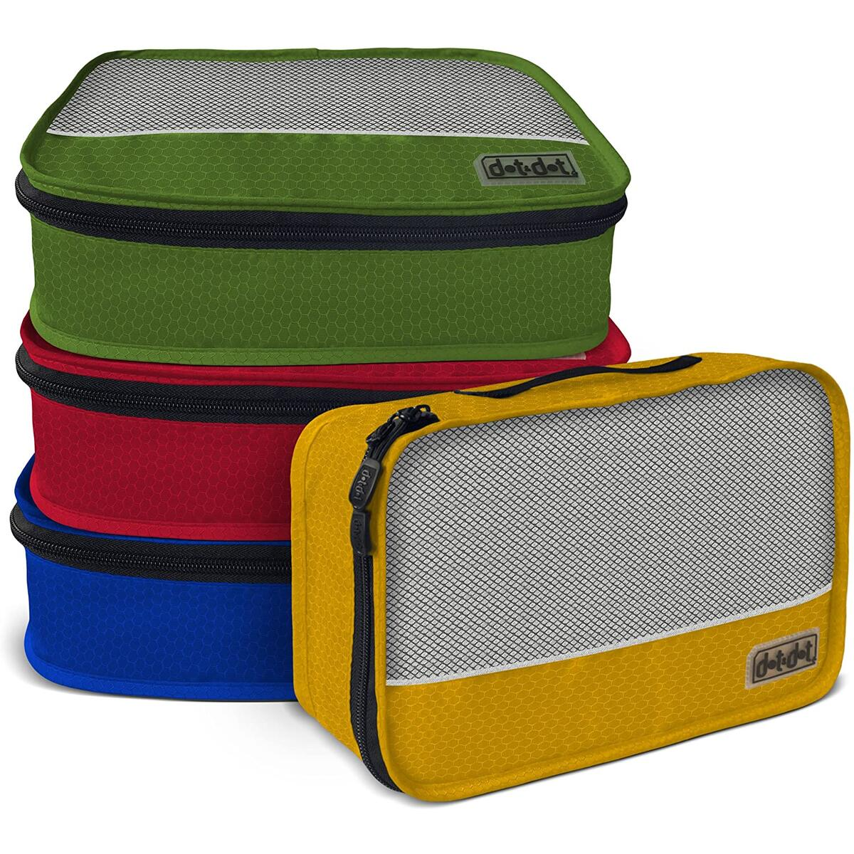 Dot&Dot Small Packing Cubes for Travel - Luggage Accessories Organizers