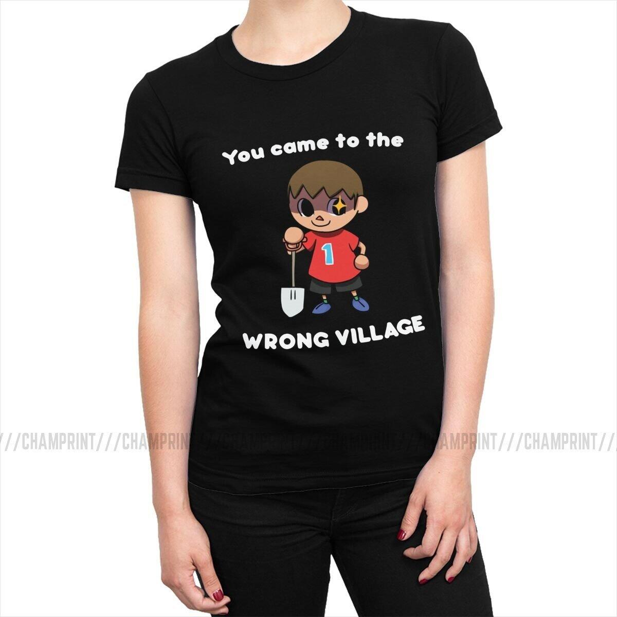 Animal Crossing You Came To The Wrong Village Shirt, Black / L