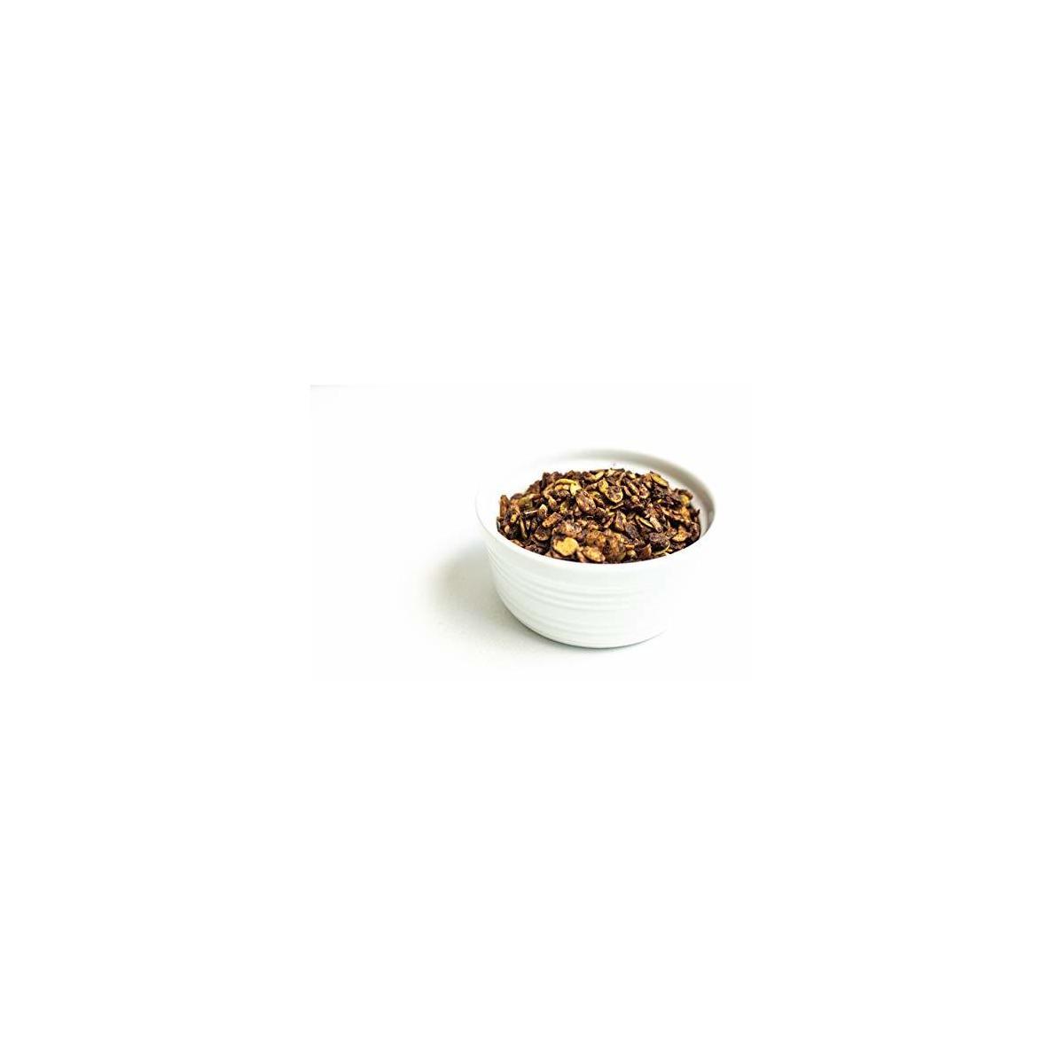 Livlo Keto Granola Cereal - 1g Net Carbs - Grain Free & Gluten Free Granola - Low Carb Keto Snacks & Food - Ketogenic, Paleo & Diabetic Friendly, Chocolate Hazelnut, 11oz