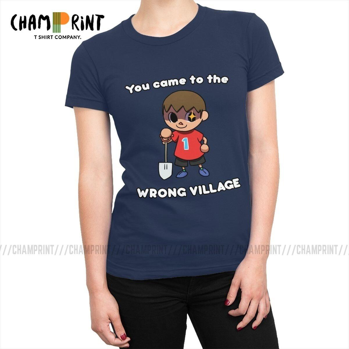 Animal Crossing You Came To The Wrong Village Shirt, Black / XL