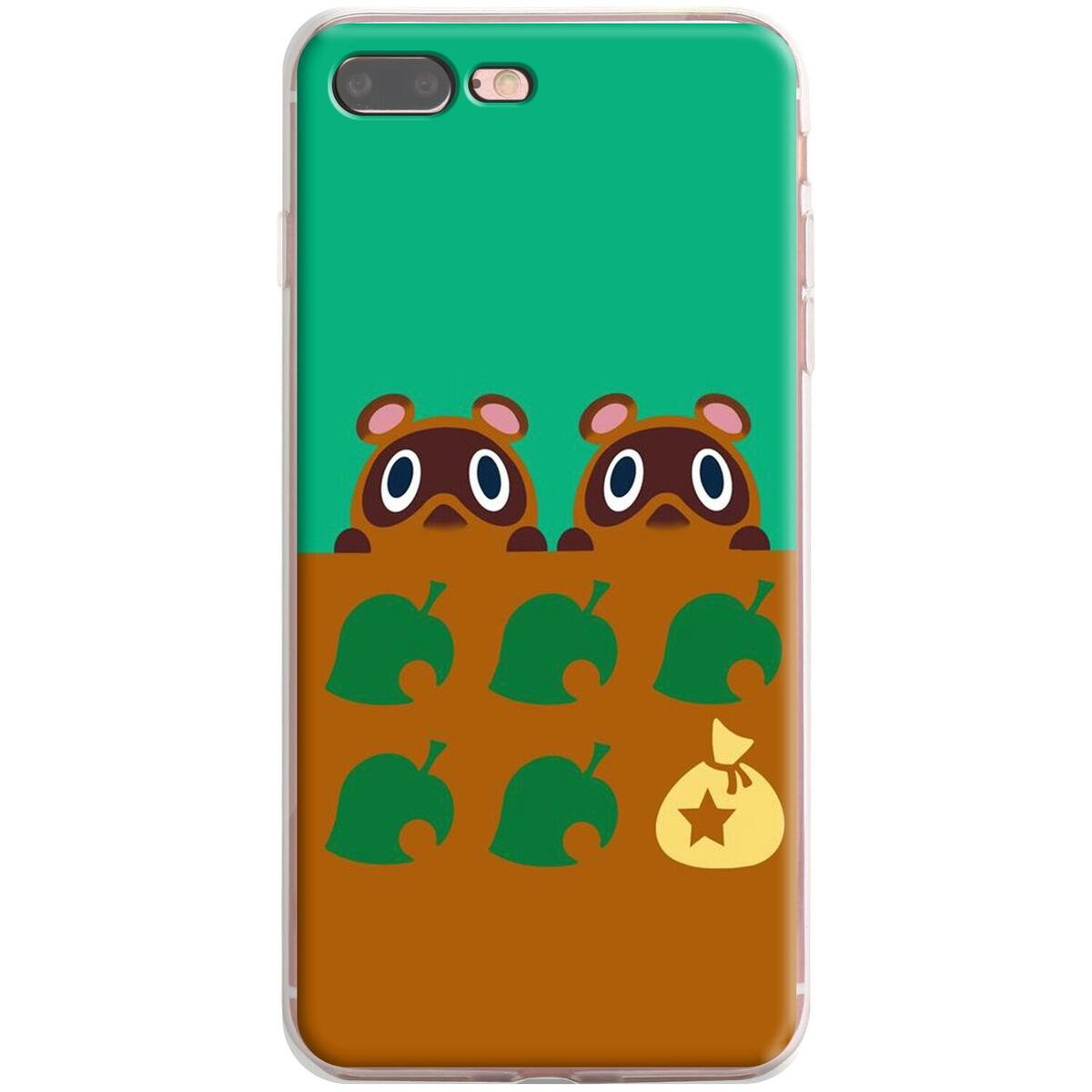 Animal Crossing Silicone Case for Apple iPhone, for iPhone XS / 3