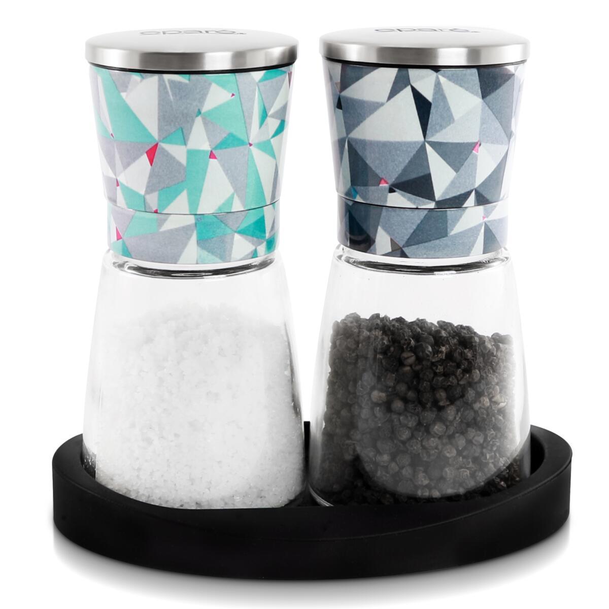 Eparé Art Deco Salt & Pepper Grinder Set