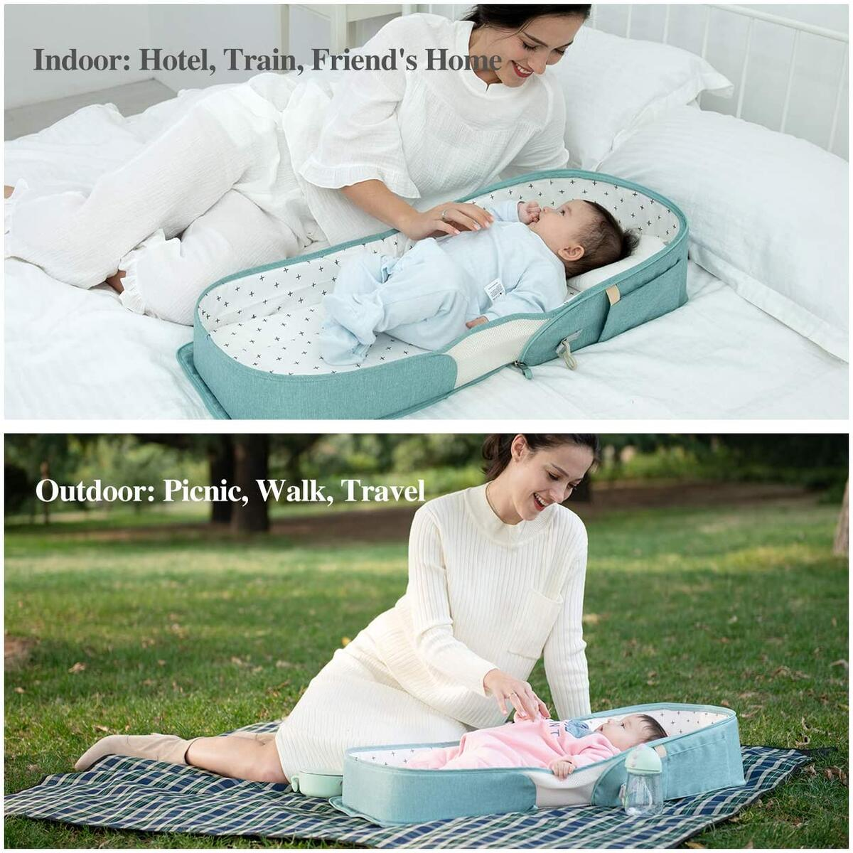 Baby Bed Bag /Travel Crib (0-6 Months)