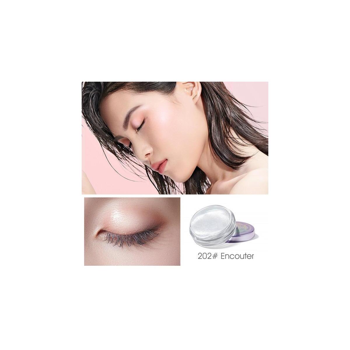 ZEEZEA New Honey & Beauty 4 Colors Pigmented Liquid Eyeshadow, 202