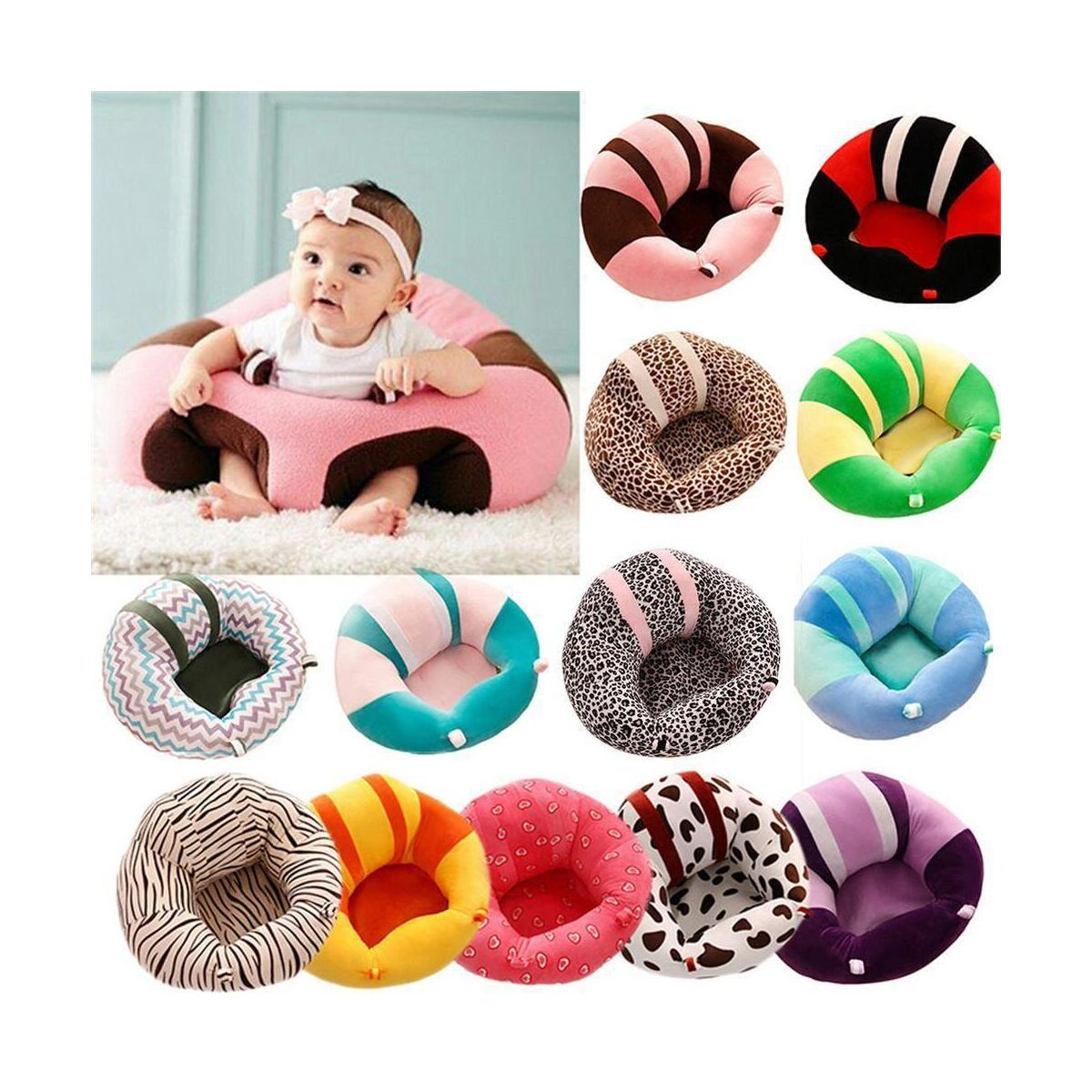 Kids Baby Support Seat Soft Chair Cushion Sofa Plush Pillow Bean Bag Sitting Toy