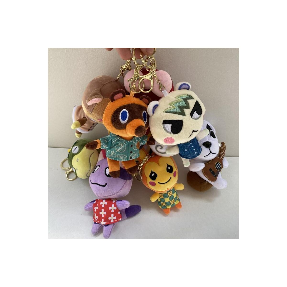 Animal Crossing Plush Villager Keychains, 12cm-Isabelle