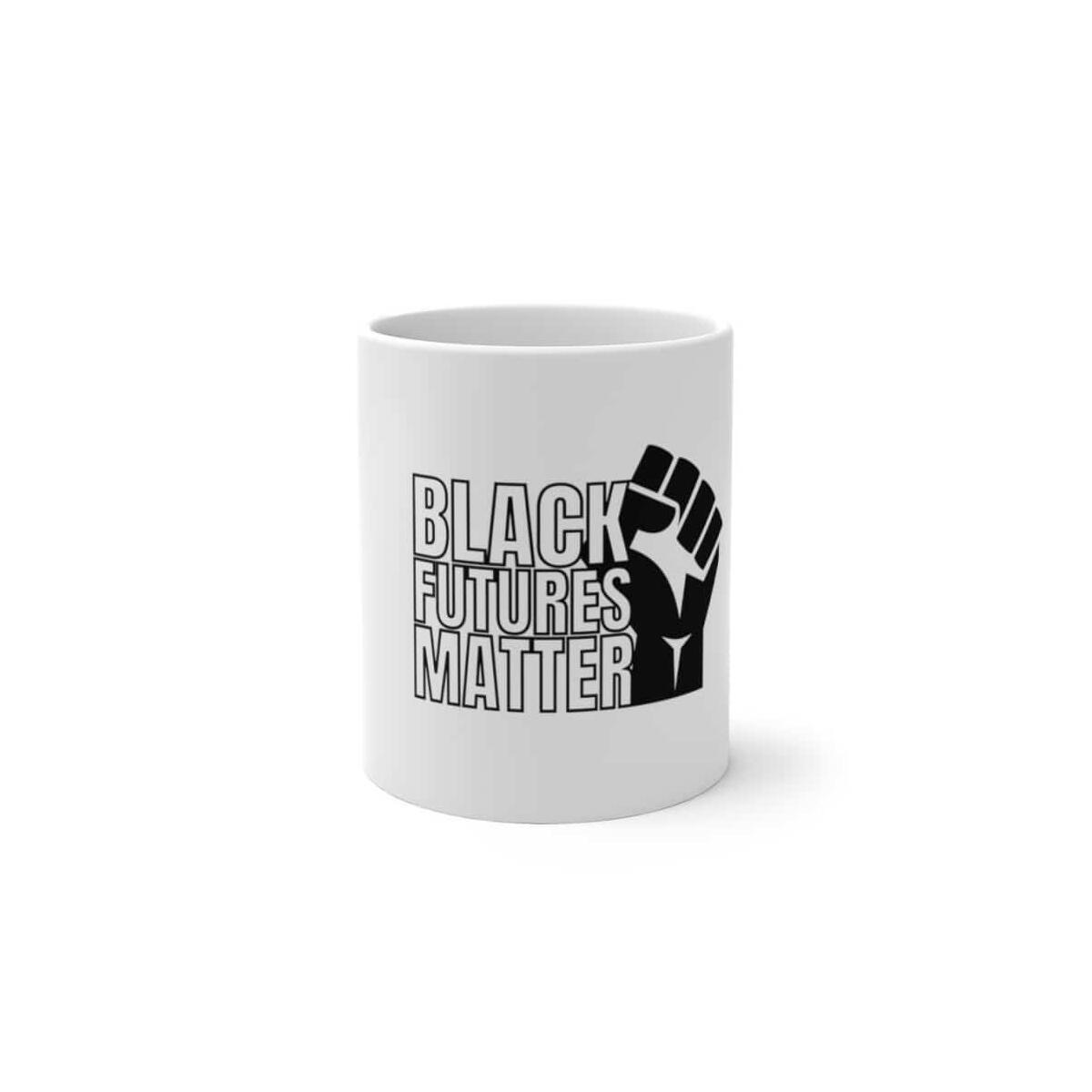 Afrocentric Black Futures Matter Color Changing Mug