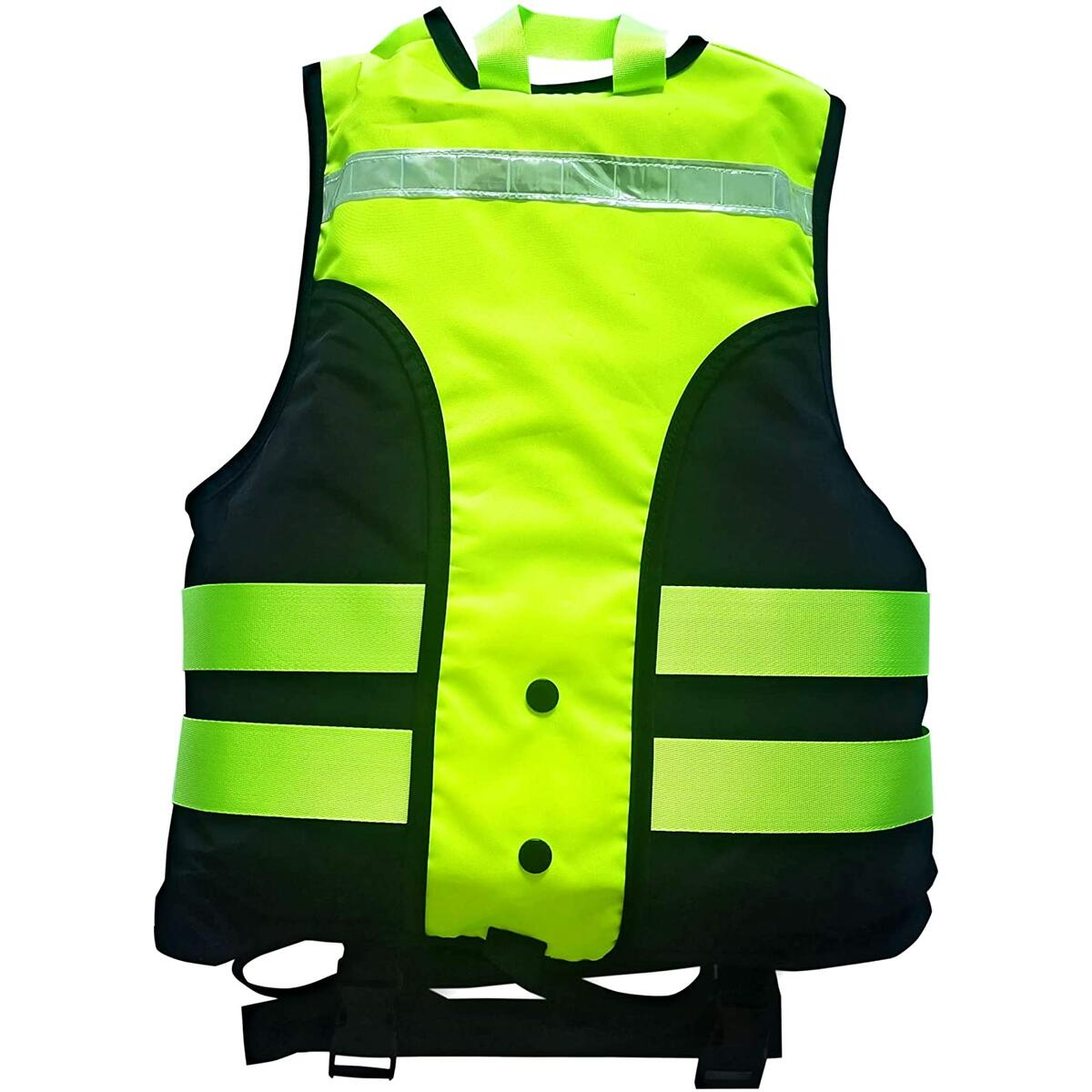 Aquatic Child - High Visibility Children Safety Vest - Premium Unisex Child Life Jacket W/EPE Foam - Water Sports Swimming Vest with Safety Buckles for Kids 25-50 lbs (Yellow)