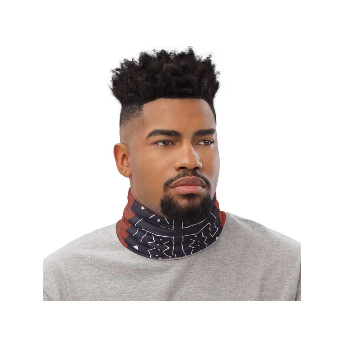 Afrocentric Bogolan Neck Gaiter/Mask