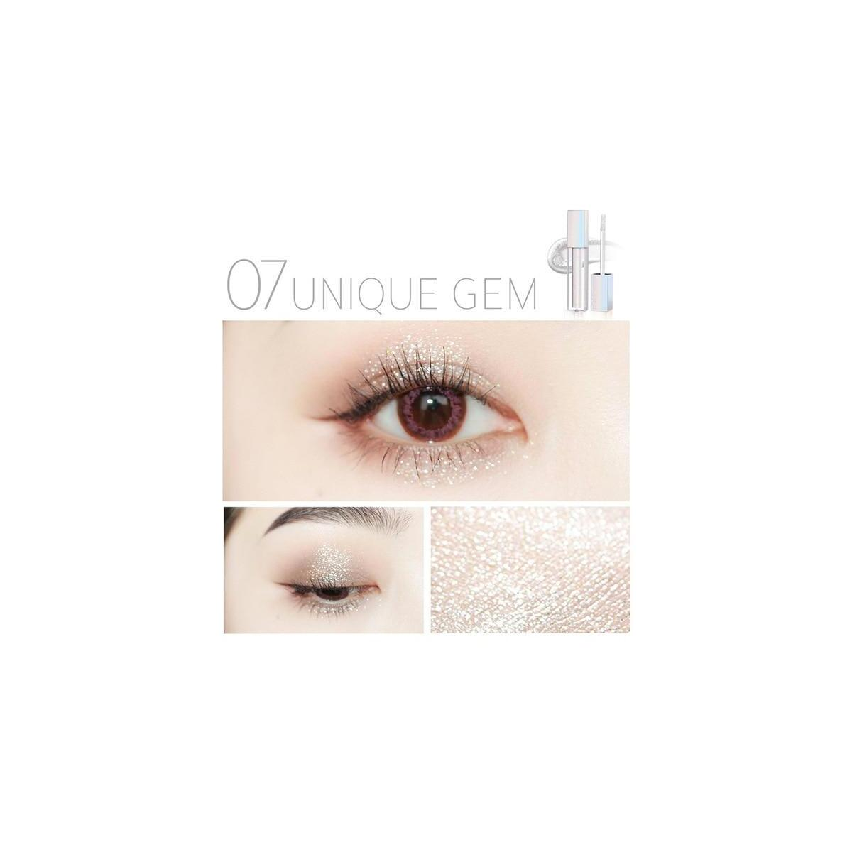 ZEESEA New Liquid Shimmer EyeShadow, 07 Unique Gem