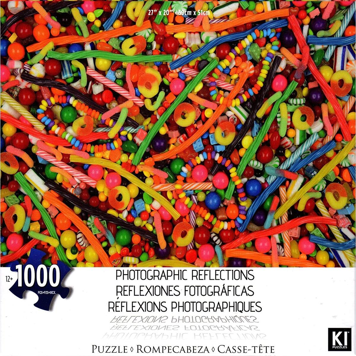 Photographic Reflections: Candy by Karen M. Romanko 1000 Piece Puzzle