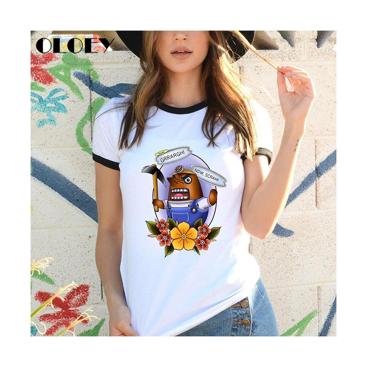 Animal Crossing Characters Tattoo Style Shirts, KK Slider / L