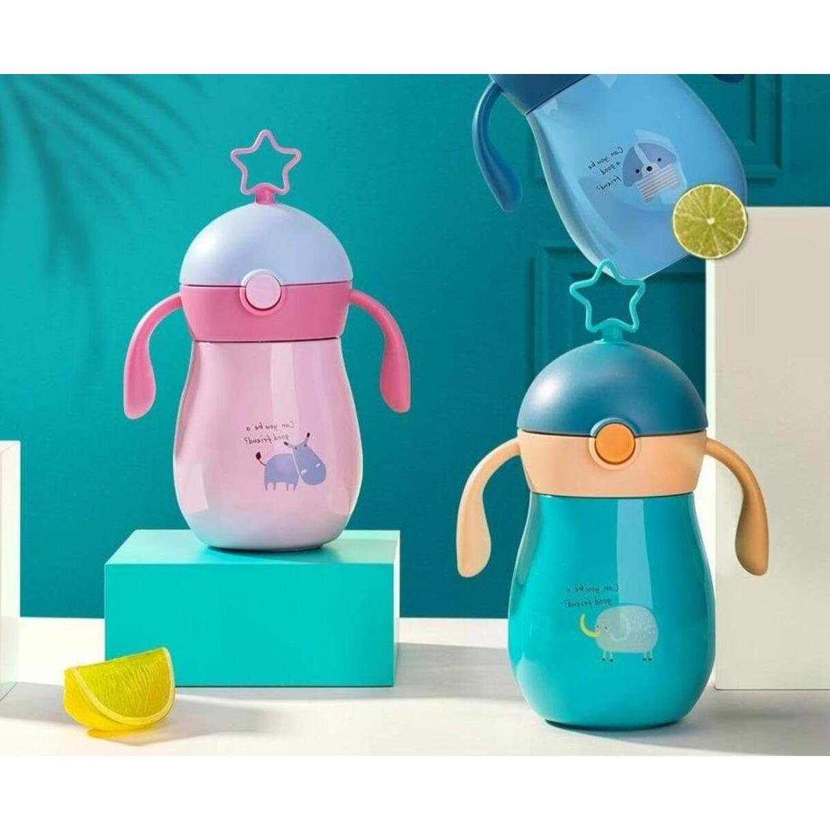 Baby Girls Boys Stainless steel thermos water bottle (260 ml)