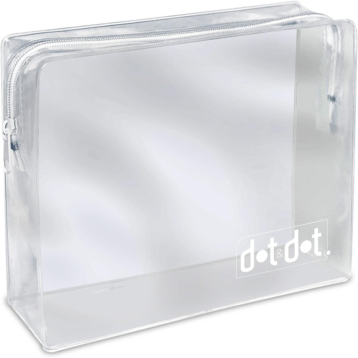 2 TSA Approved Toiletry Bags - 311 Clear Quart Size Bag for Airline Travel