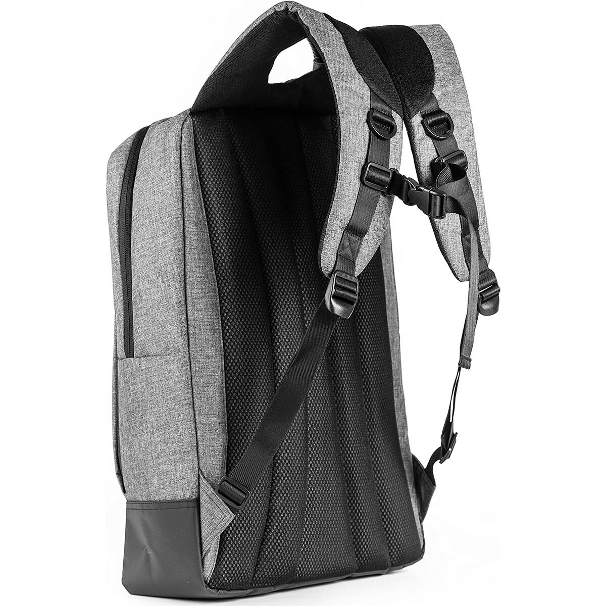 Travel Laptop Backpack for Up to 15 Inch Laptops - Protective Water Resistant Padded Bag for School, Work, Business, Hiking, Top Quality and Super Durable Computer Case for Men and Women