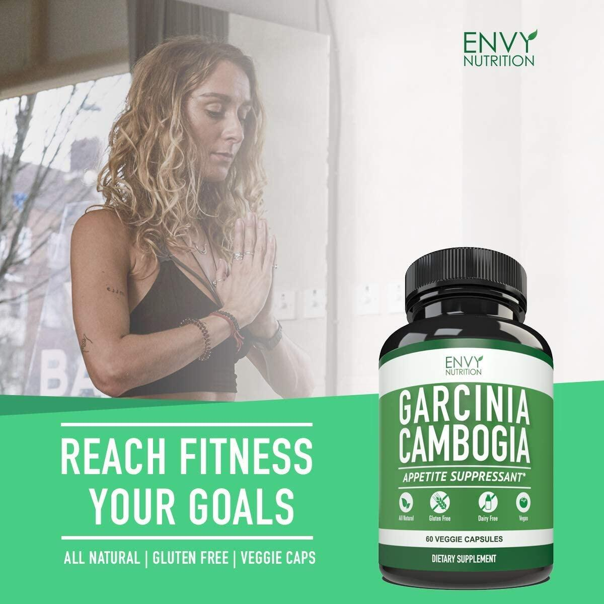 Garcinia Cambogia to Aid Healthy Weight - High Quality Garcinia Cambogia with 95 Percent HCA Extract- Supports Healthy Weight Loss - 60 Capsules