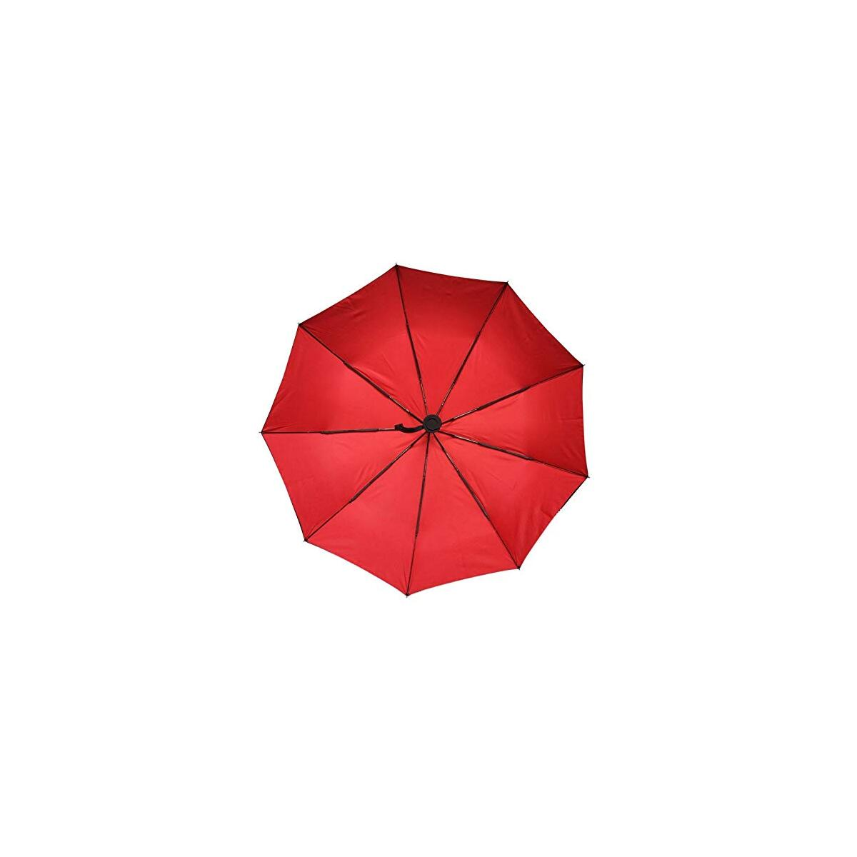 JONAKI Premium Quality Double Canopy Super Windproof Automatic Compact Umbrellas, User-Friendly Portable, Lightweight Automatic Travel Umbrella