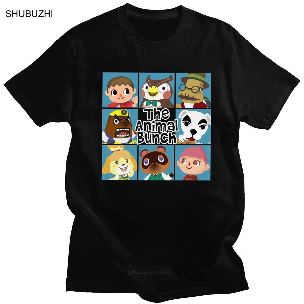 Animal Crossing Brady Bunch Style Shirt, Army Green / S