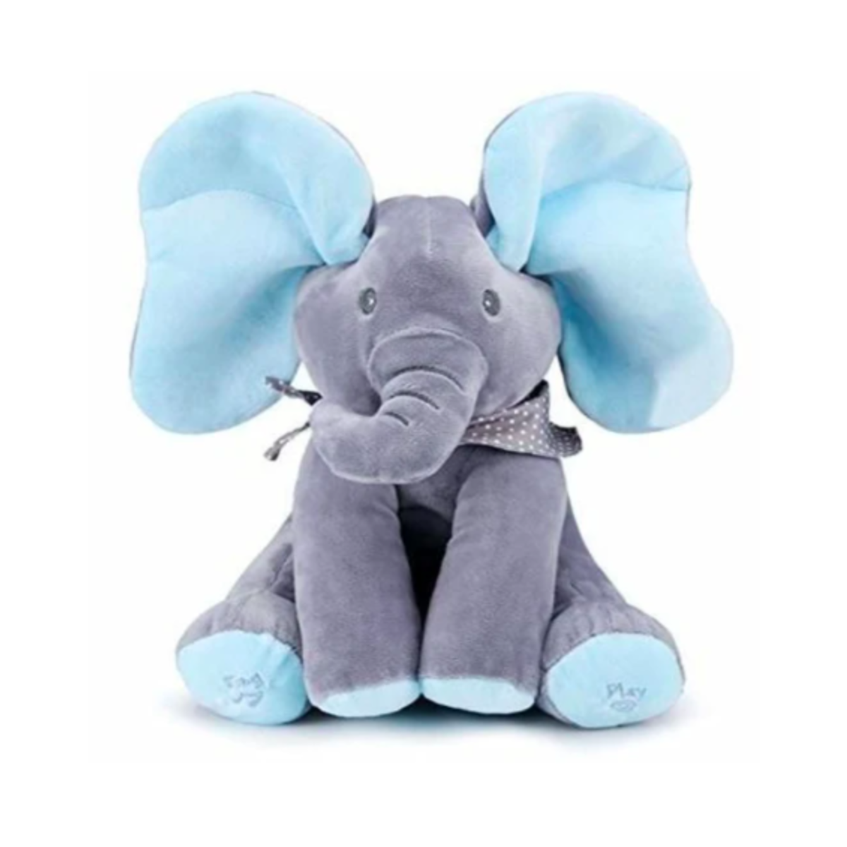 Peek a Boo Animated Stuffed Elephant