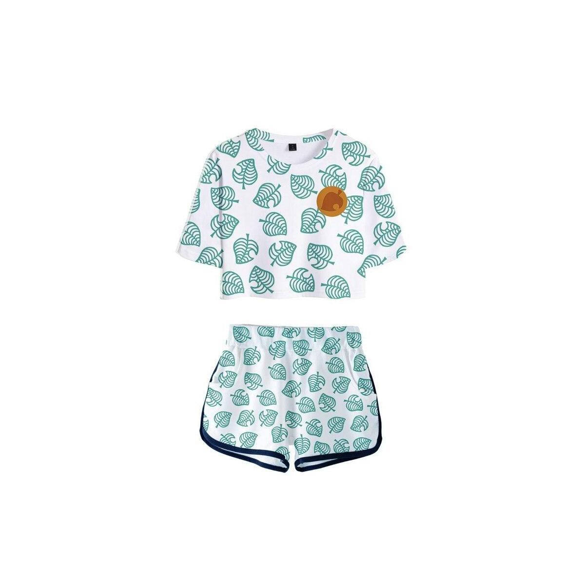Animal Crossing Print Pajama Set, style 7 / XXL