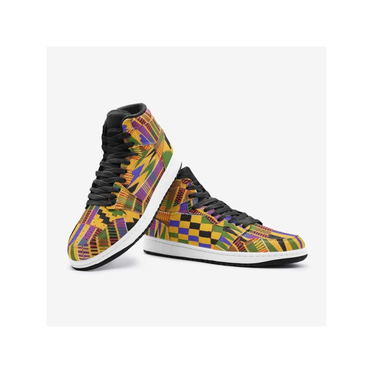 African kente Unisex Sneaker Shoes