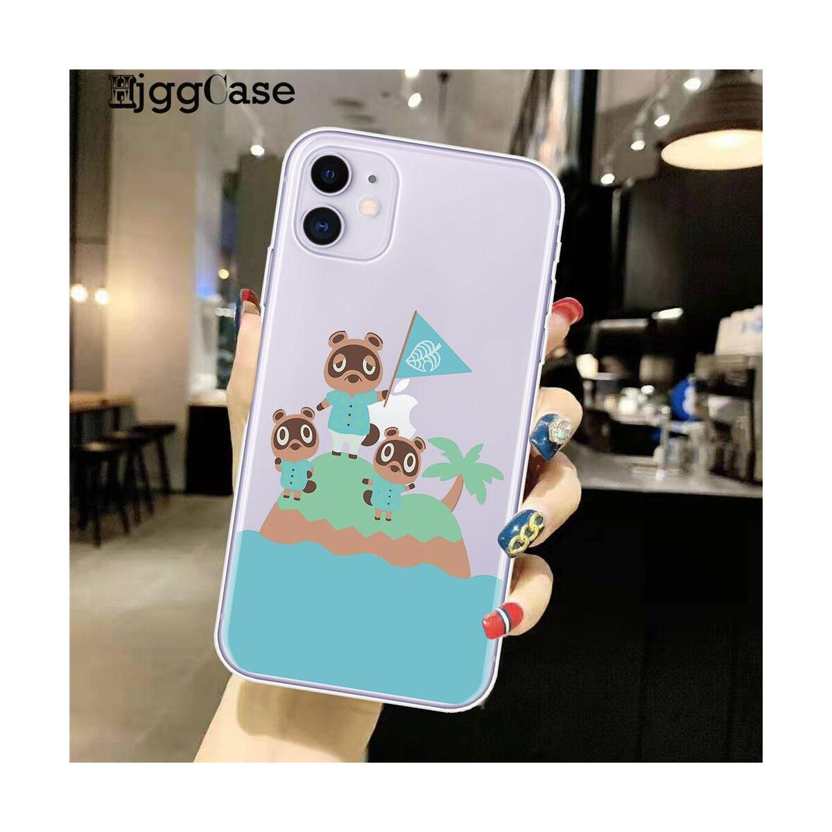 Animal Crossing New Horizons Silicone Phone Cases For iPhone, For iPhone 11Pro Max / D1030