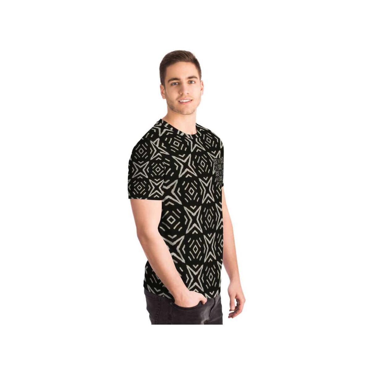 Bogolan B W Star Pocket T-shirt
