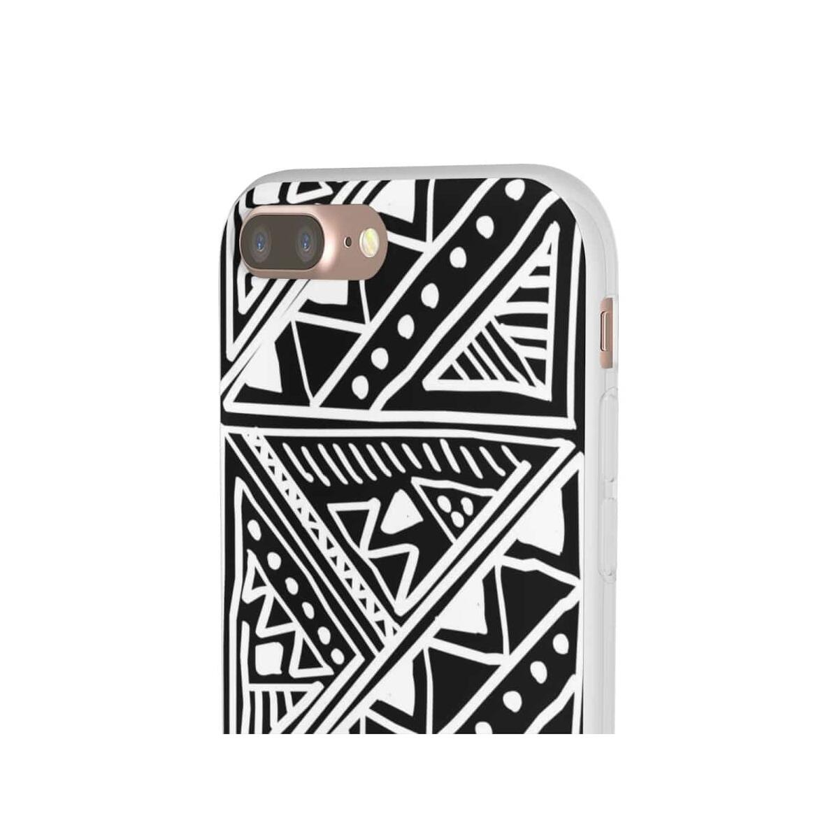 White African Tribal Mud-cloth Flexi Phone cases, iPhone 7 Plus