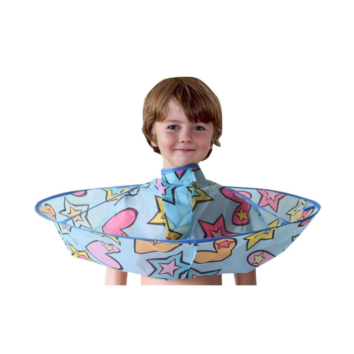 Kids Boy Hair Cutting Cape Gown Hairdresser Barber Apron Hairdressing Children